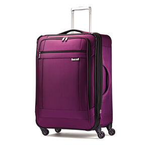 "Samsonite SoLyte 25"" Spinner in the color Purple Magic."