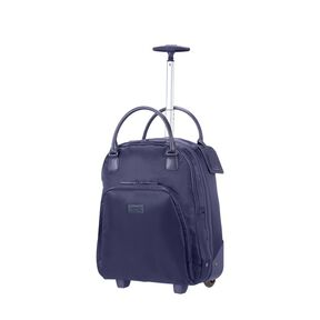 Lipault Lady Plume Wheeled Carry on Brief in the color Navy.