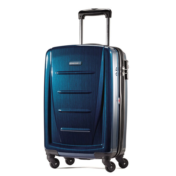 "Samsonite Winfield 2 Fashion 20"" Spinner in the color Deep Blue."