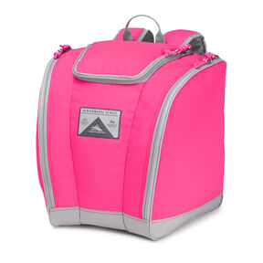 High Sierra Junior Trapezoid Boot Bag in the color Flamingo Pink.