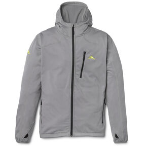 High Sierra Men's Conness Full Zip Hoodie in the color Charcoal.