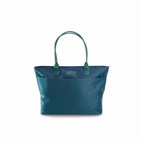 Lipault Original Plume City Tote in the color Duck Blue.
