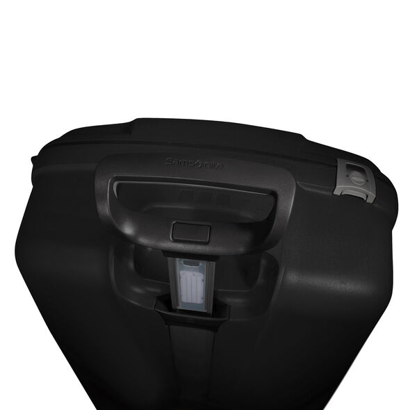 "Samsonite F'Lite GT 30"" Hardside Upright in the color Black."