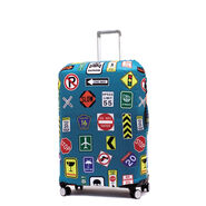 Printed Luggage Cover - M