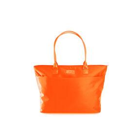 Lipault Original Plume City Tote in the color Orange.