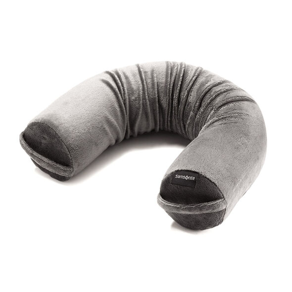 Samsonite Long Memory Foam Pillow in the color Charcoal.