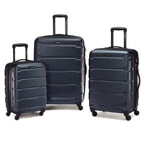Samsonite Omni PC Spinner Set in the color Teal.