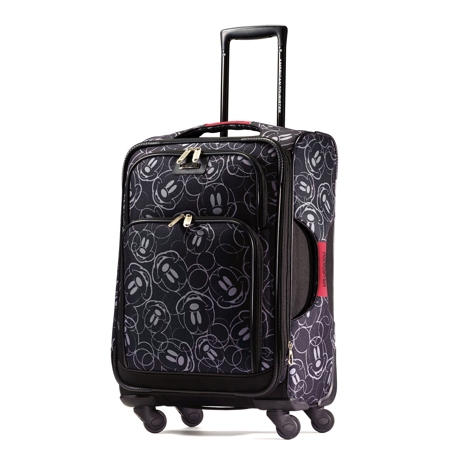 american tourister disney mickey mouse 21 spinner. Black Bedroom Furniture Sets. Home Design Ideas