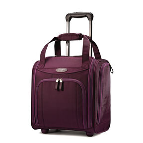 Samsonite Small Rolling Underseater in the color Purple.