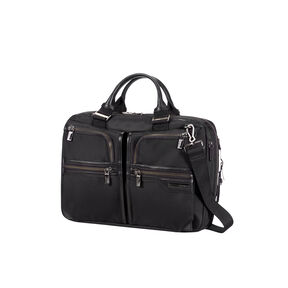 Samsonite GT Supreme Bail Handle 15.6 in the color Black/Black.