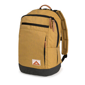 High Sierra Olmsted Avondale Backpack in the color Gold/Raven.