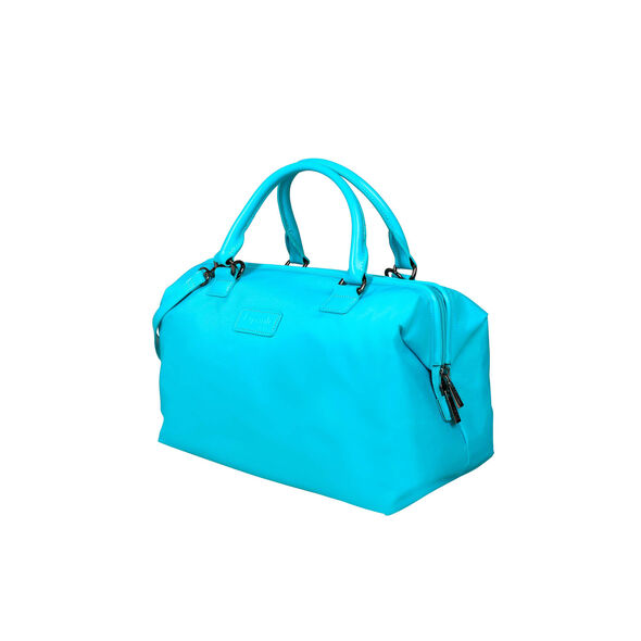 Lipault Lady Plume Bowling Bag (M) in the color Riviera Blue.