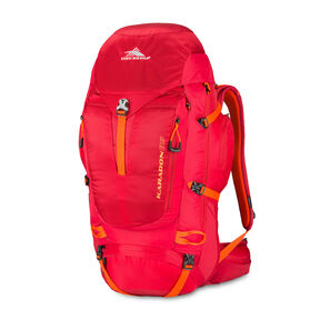 High Sierra Karadon 65 L S-M in the color Carmine.