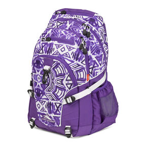 High Sierra Loop Backpack in the color Purple Shibori.