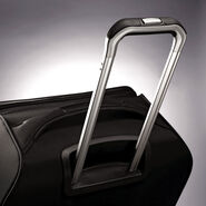 "Samsonite Mightlight 2 30"" Spinner in the color Black."