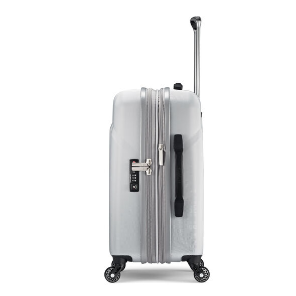 "Samsonite Hyperflex 2.0 20"" Spinner in the color Silver."
