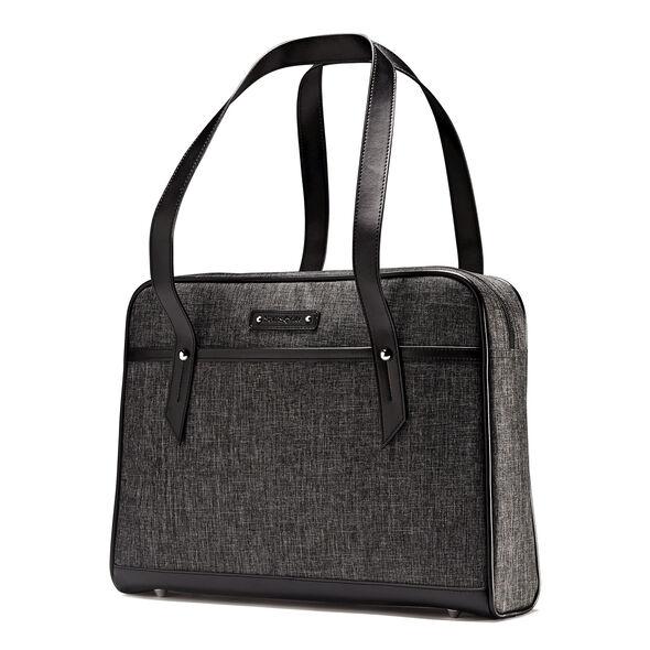 Samsonite Business Heathered Slim Brief in the color Grey.