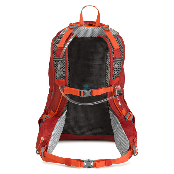 High Sierra Lenok Hydration Pack in the color Carmine/Redline.