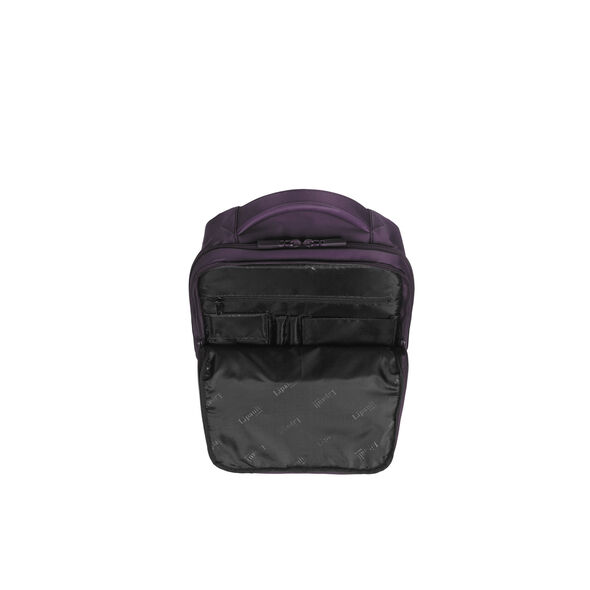 Lipault Plume Business Laptop Backpack M in the color Purple.