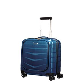 Samsonite Black Label Lite-Biz Spinner Rolling Tote in the color Electric Blue.