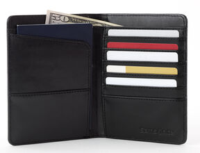 Samsonite Passport Wallet in the color Black.