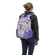 High Sierra Loop Backpack in the color Sweet Cakes/ Lavender/White.