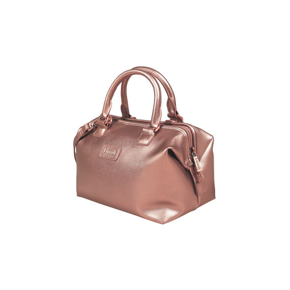 Lipault Miss Plume Bowling Bag S in the color Pink Gold.