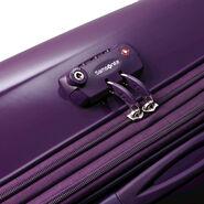 "Samsonite Sahora Brights 28"" Spinner Luggage in the color Purple."