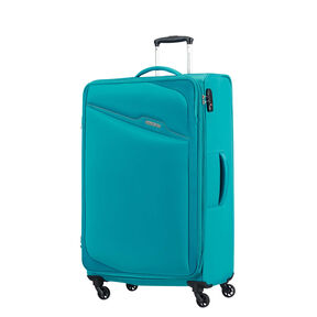 American Tourister Bayview Spinner Large in the color Hyper Blue.