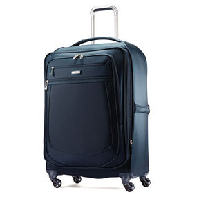 "Samsonite Mightlight 2 25"" Spinner in the color Majolica Blue."