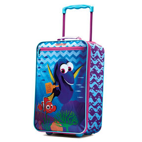 "American Tourister Disney 18"" Softside Upright in the color Finding Dory."