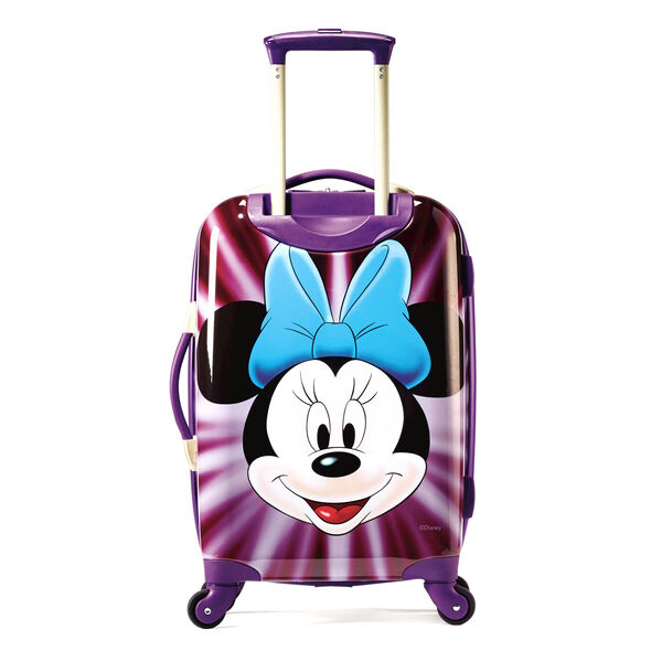 "American Tourister Disney Minnie Mouse 21"" Hardside Spinner in the color Minnie Mouse Face."