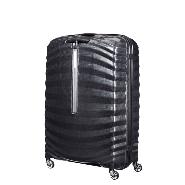 "Samsonite Black Label Lite-Shock 30"" Spinner in the color Black."