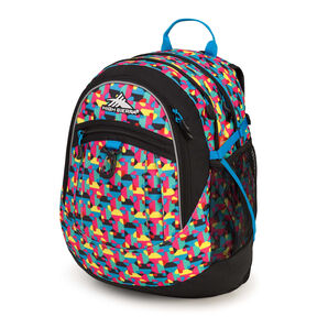 High Sierra Fat Boy Backpack in the color Heart Throb/Black/Pool.