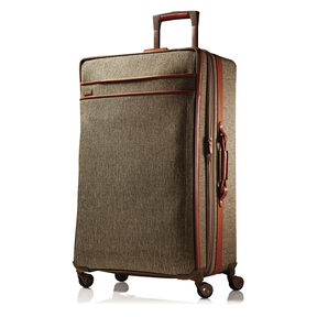 Hartmann Tweed Long Journey Expandable Spinner in the color Natural.