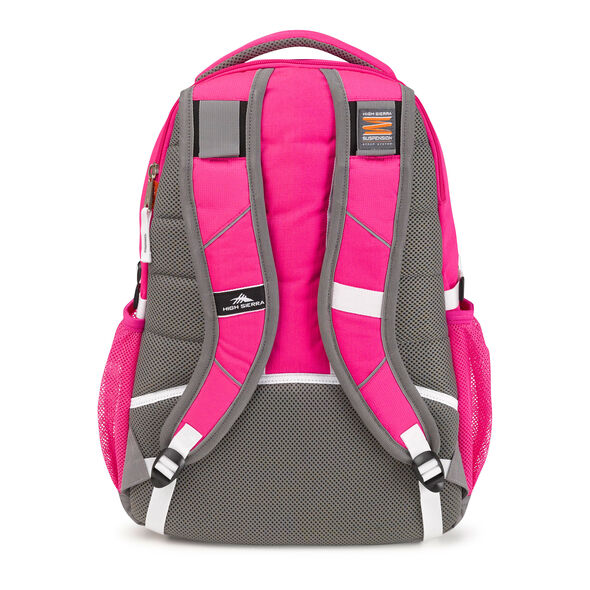 High Sierra Swerve Backpack in the color Flamingo Pink.