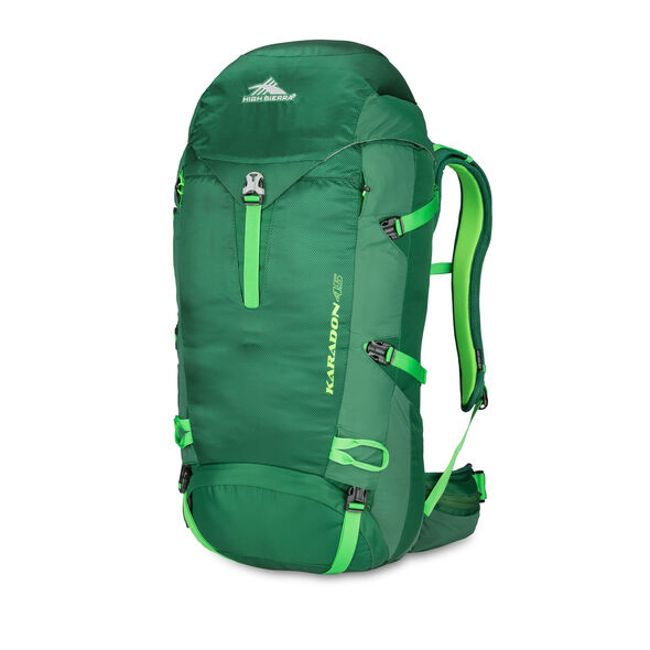 High Sierra Karadon 45 L M-L in the color Lime/ Kelly Green.