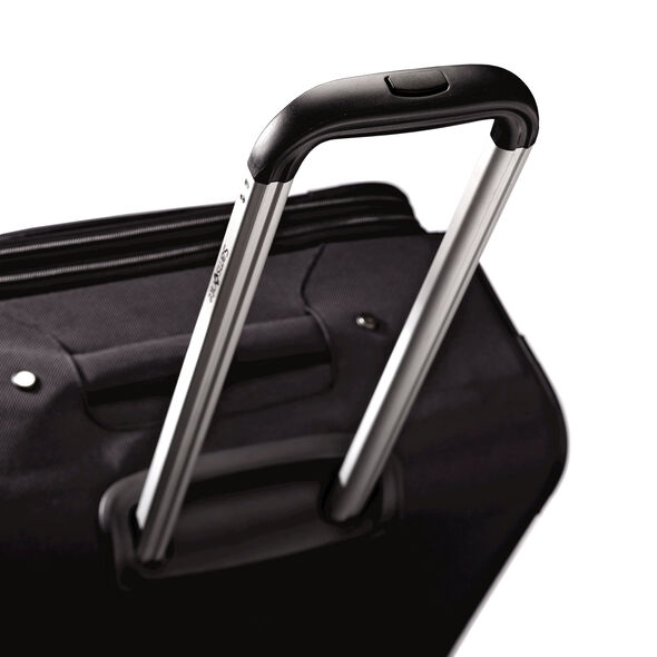 "Samsonite Aspire GR8 21"" Carry-On Upright in the color Black."