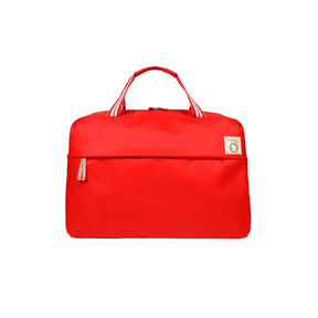 Lipault Ines De La Fressange Duffel Bag in the color Red.