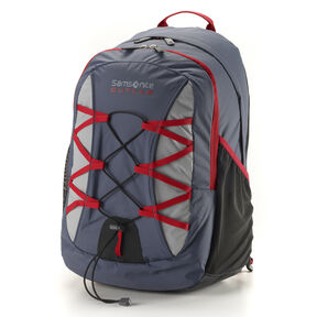 Samsonite Outlab Crossfire Backpack in the color Grey/Red.