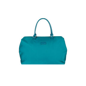 Lipault Lady Plume Weekend Bag M in the color Duck Blue.