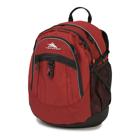 High Sierra Fat Boy Backpack in the color Brick.