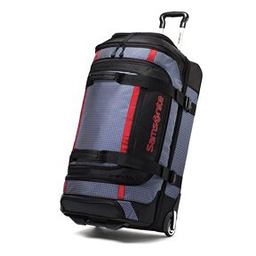 "Samsonite Ripstop 30"" Rolling Duffel in the color Blue."