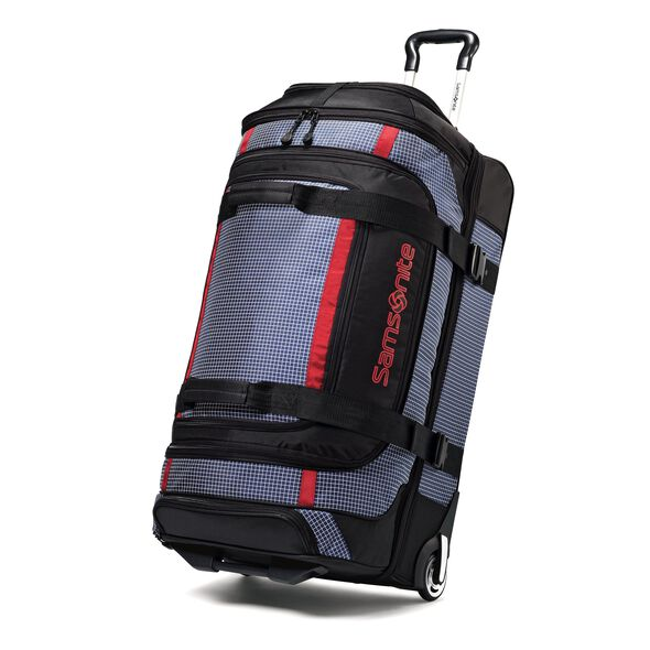 "Samsonite Ripstop 35"" Rolling Duffel in the color Blue."