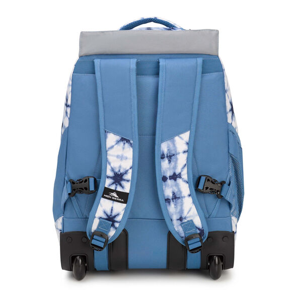 High Sierra Chaser Wheeled Backpack in the color Indio Dye/Mineral.