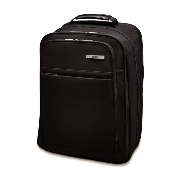 Hartmann Metropolitan Slim Backpack in the color Deep Black.