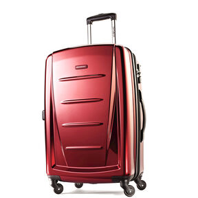 "Samsonite Reflex 2 24"" Expandable Spinner in the color Burgundy - Exclusive."