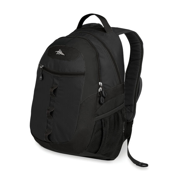 High Sierra Opie Backpack in the color Black.