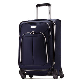 """Samsonite Ascella LTE 21"""" Spinner in the color Navy."""