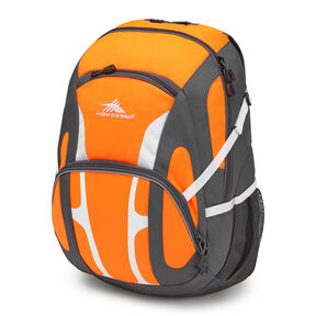 High Sierra Composite Backpack in the color Electric Orange/Mercury/White.